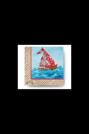 纸/造型蜡烛)(全面7折) merchandises 餐巾纸 03 帆船餐巾纸(午餐)